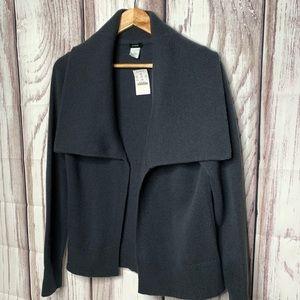 J Crew knit cardigan grey